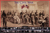 Civil War Wall Poster