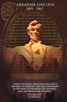 Lincoln, Abraham Wall Poster