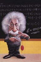 Einstein-E=Mc2 Fine-Art Print