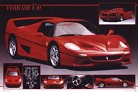 Ferrari F-50 Wall Poster