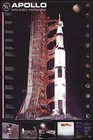 Apollo 11 Manned Mission Fine-Art Print