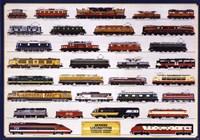 Modern Locomotives Wall Poster