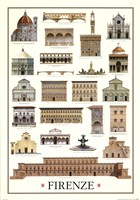 Architecture-Florence Wall Poster