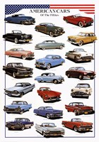 American Cars of the Fifties Fine-Art Print
