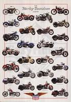 Harley Davidson Legend Wall Poster