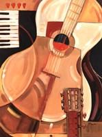 Abstract Guitar Fine-Art Print