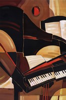 Abstract Piano Fine-Art Print