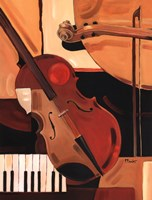 Abstract Violin Fine-Art Print