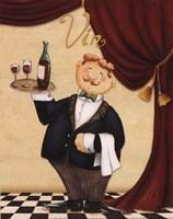 Waiter - Vin Fine-Art Print