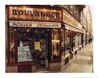 Boulangier Patissier Fine-Art Print