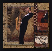 Jazz Sax Fine-Art Print