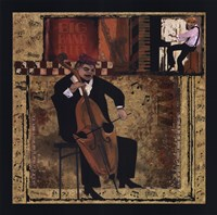 Jazz Cello Fine-Art Print
