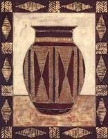 Tribal Urn I Fine-Art Print