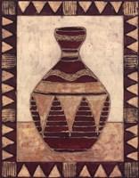 Tribal Urn IV Fine-Art Print