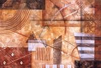 Sienna Rhythm Fine-Art Print
