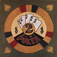 Poker - $2 Framed Print