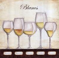 Les Vins Blancs Fine-Art Print
