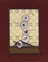 Sushi II Fine-Art Print