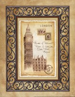 London Postcard Fine-Art Print