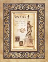 New York Postcard Fine-Art Print