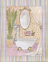 Powder Room I Fine-Art Print
