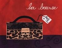 Leopard Handbag I Fine-Art Print