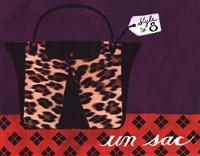Leopard Handbag IV Fine-Art Print