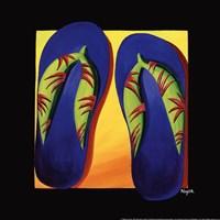 Bahama Thongs Fine-Art Print