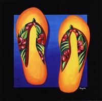 Hawaii Thongs Fine-Art Print