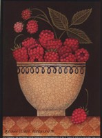 Cup O' Raspberries Fine-Art Print