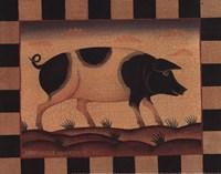 Farm Pig Fine-Art Print