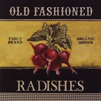 Old Fashioned Radishes Fine-Art Print