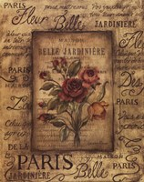 Bel Bouquet I Fine-Art Print