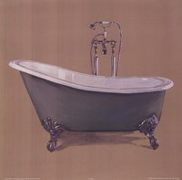 Green Bathtub Fine-Art Print