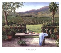 Overlooking the Vineyard Fine-Art Print