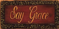 Say Grace Fine-Art Print