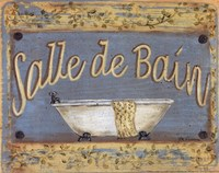 Salle De Bain Fine-Art Print