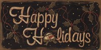 Happy Holidays Fine-Art Print