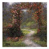 Rose Arbour I Fine-Art Print