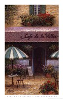 Cafe De La Vallee Fine-Art Print