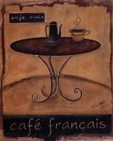 Cafe Francais Fine-Art Print