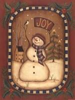 Joy Snowman Fine-Art Print
