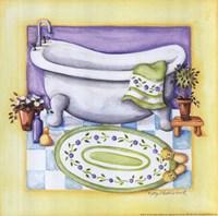 Yellow Bathroom - Tub Fine-Art Print