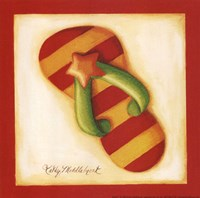 Red Flip Flop II Fine-Art Print