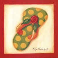 Red Flip Flop III Fine-Art Print