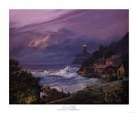 Sunset Fog Fine-Art Print