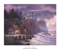 Harbor Light Hideaway Fine-Art Print