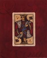 King - red Fine-Art Print