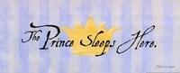 Prince Sleeps Here Fine-Art Print