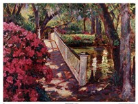 Shady Promenade Fine-Art Print